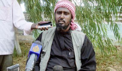 """Otherwise, remember what happened in Uganda's capital,"" said al-Shabab spokesman Ali Mohamud Rage in Mogadishu, Somalia, on Monday. (Associated Press)"