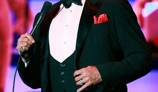 """""""Mr. Las Vegas"""" Wayne Newton will be CNN's special guest at the glitzy Republican primary debate in Nevada on Tuesday night. (Associated Press)"""