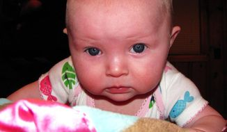 Ten-month-old Lisa Irwin has been missing since Oct. 4. (AP Photo/Kansas City [Mo.] Police Department)