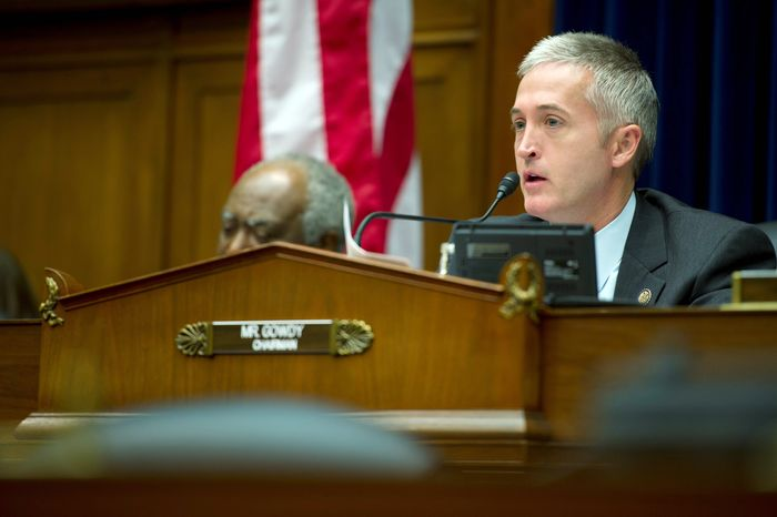 Rep. Trey Gowdy (right), South Carolina Republican