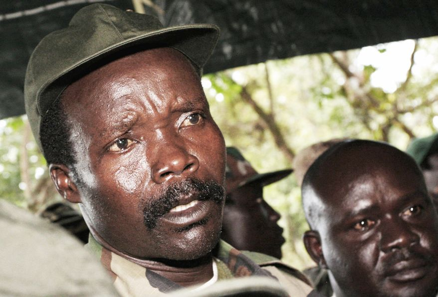 Joseph Kony is the ruthless leader of the Lord's Resistance Army and the biggest target for Ugandan President Yoweri Museveni, who has committed thousands of troops to fight militants from al-Shabab, a group with ties from al Qaeda. (Associated Press)