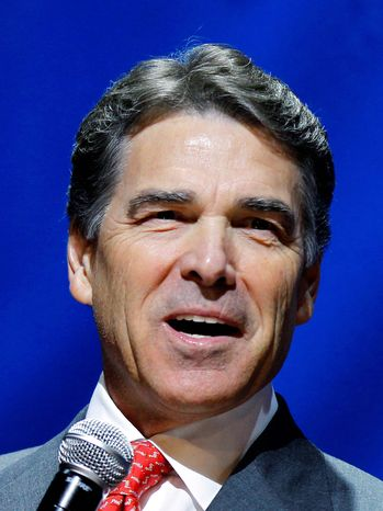 Texas Gov. Rick Perry (Associated Press)