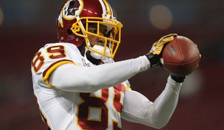 Washington Redskins wide receiver Santana Moss caught four passes for 29 yards against the Seattle Seahawks after missing a month with a broken hand.  (AP Photo/Jeff Roberson)