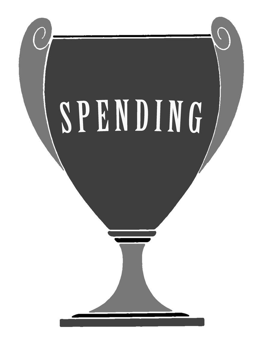 Illustration: Spending champ