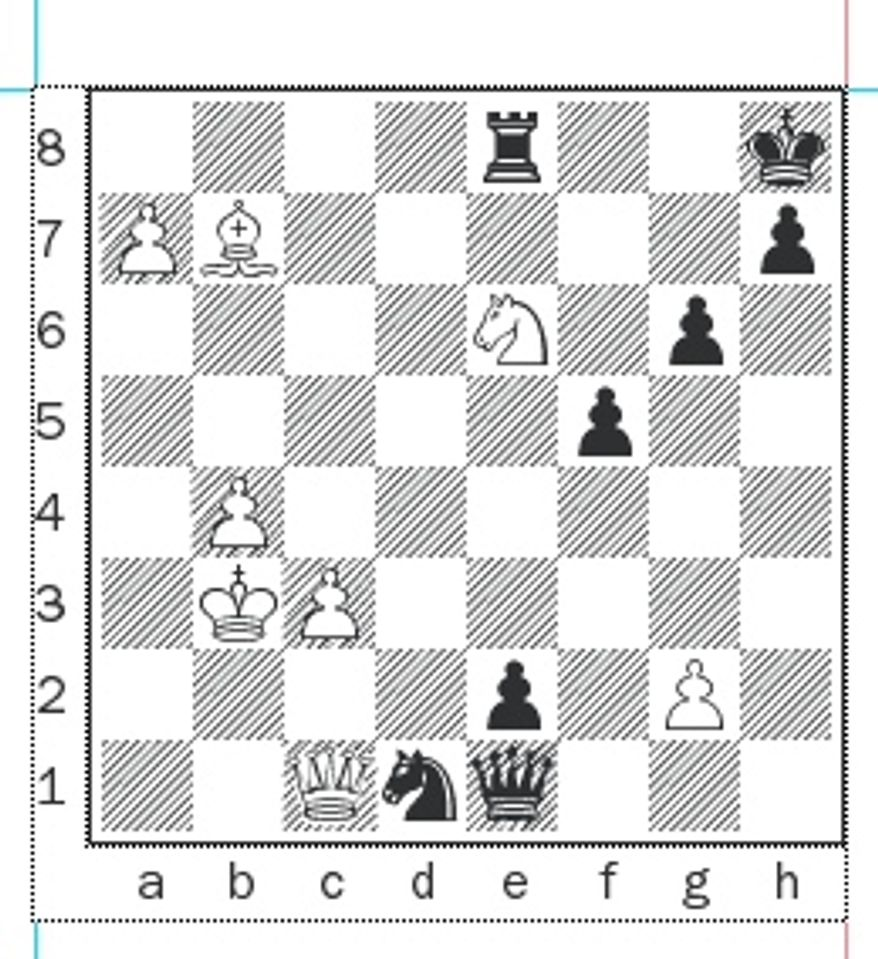Baramidze-Bologan after 51...Re8.