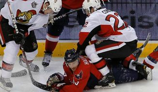 Washington Capitals' Jeff Halpern often provides the gritty work in the corners and along the boards - which is especially important on the penalty kill. (Associated Press)