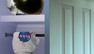 Illustration: NASA by Alexander Hunter for The Washington Times