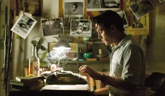 "Johnny Depp plays a booze-addled reporter with a career decision to make in ""The Rum Diary."" (Associated Press)"