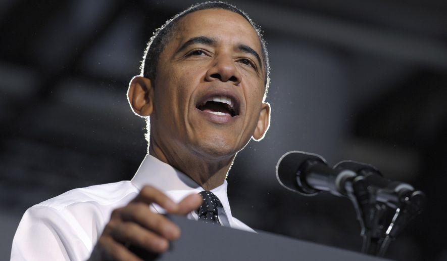 President Obama speaks about managing student debt during an event at the University of Colorado at Denver on Wednesday, Oct. 26, 2011. (AP Photo/Susan Walsh)