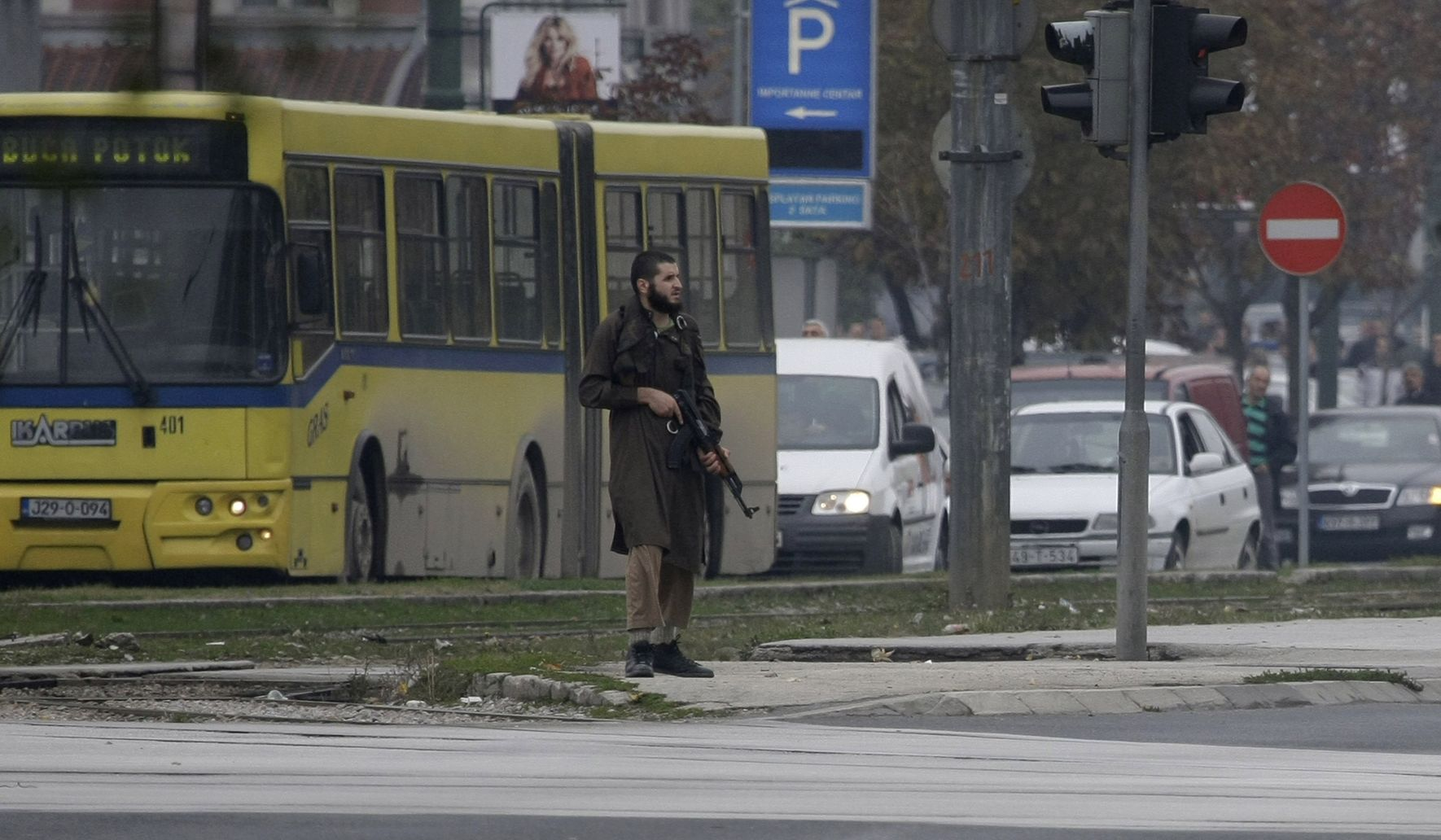 Terrorist attack outside U S  Embassy in Bosnia - Washington Times