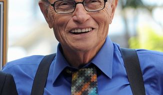 Larry King (Associated Press)