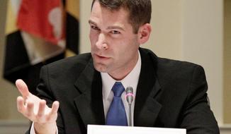 Sen. Robert J. Garagiola  (AP Photo/Patrick Semansky)