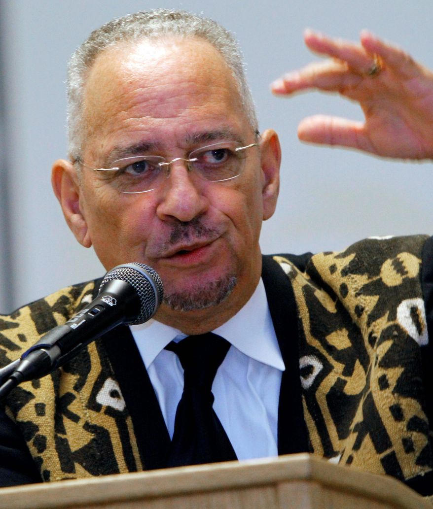 Barack Obama was forced into crisis mode with the widespread distribution of videos showing his longtime pastor, the Rev. Jeremiah Wright (seen here), shouting anti-American slogans. (Associated Press)