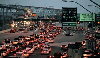 The Chesapeake Bay Bridge. (Rod Lamkey Jr./The Washington Times) FILE
