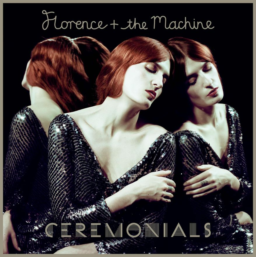"""Florence + the Machine's new release is titled """"Ceremonials."""" (Universal Republic Records via Associated Press)"""