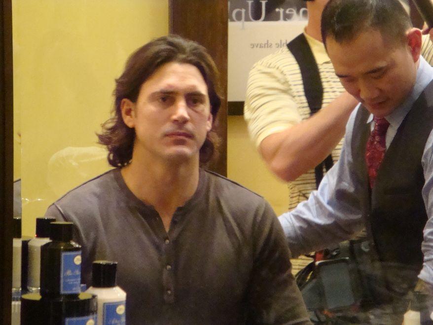 George Parros, clean-shaven. (Jess Milcetich)