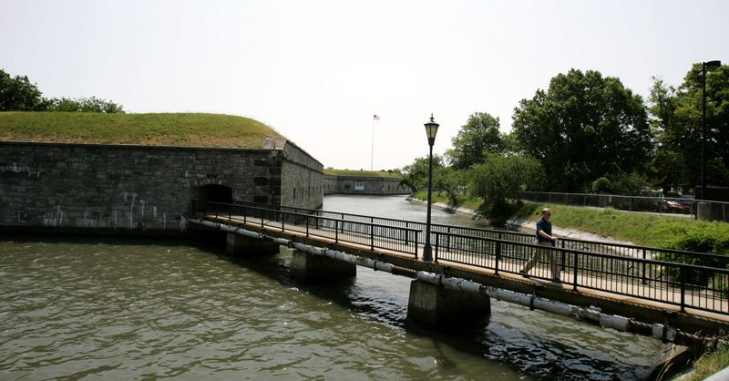 Fort Monroe in Hampton, Va., was a mecca for fugitive slaves during the Civil War. (Associated Press)