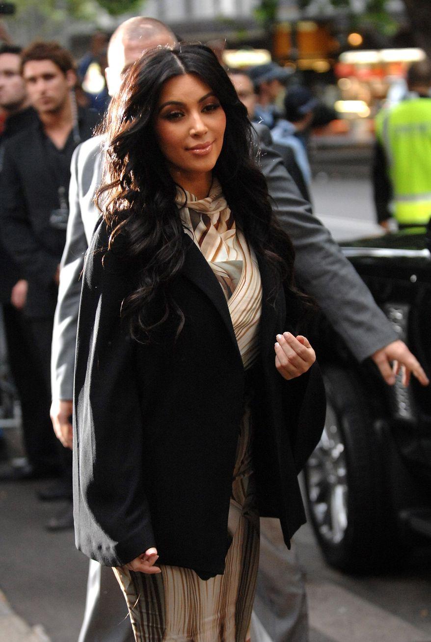 Kim Kardashian (Associated Press)
