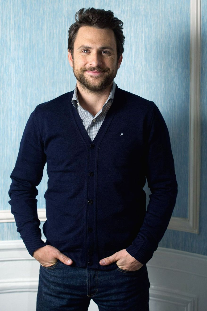 """Charlie Day poses for a portrait in New York, Saturday, June 25, 2011. In the new comedy """"Horrible Bosses,"""" Day stars alongside Jason Bateman and Jason Sudeikis as a trio of friends who plot to murder their variously oppressive managers. (AP Photo/Charles Sykes)"""