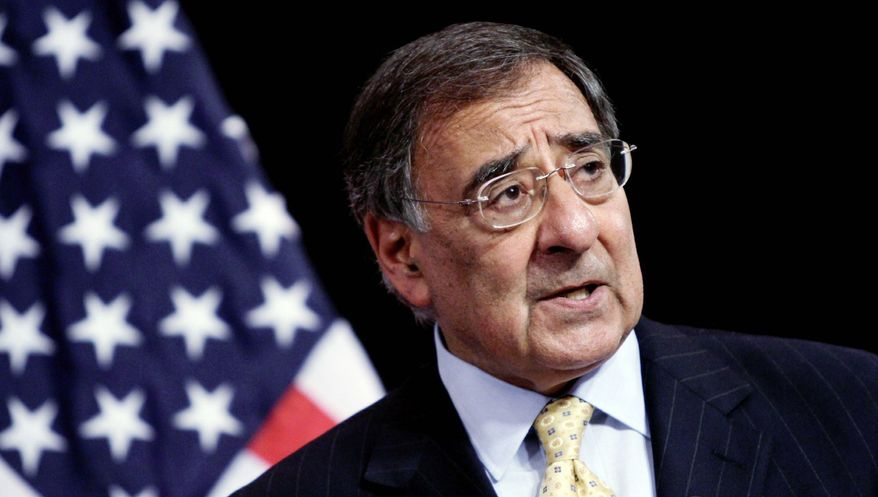 "'YELLING AND SCREAMING': Leon E. Panetta told the House Armed Services Committee that deep budget cuts would be ""truly devastating."" (Associated Press)"