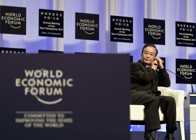 """I believe China's economy can achieve longer-term, better quality growth,"" Premier Wen Jiabao told more than 1,500 industry, government, technology and civil society leaders at September's annual meeting of the New Champions - ""The Summer Davos"" - held by the World Economic Forum at the Dalian World Expo Center in northeastern China."