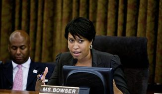 D.C. Council member Muriel Bowser (T.J. Kirkpatrick/The Washington Times)