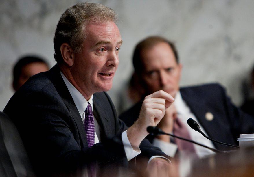 ** FILE ** Rep. Chris Van Hollen, Maryland Democrat (The Washington Times)
