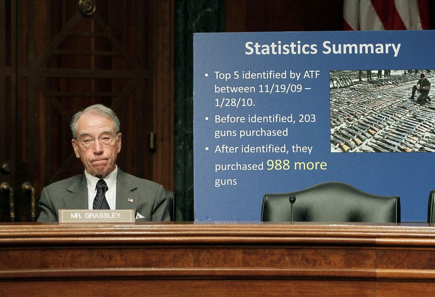 """""""The department has refused to schedule interviews with any of the other 11 witnesses. That's not the good-faith cooperation I was promised, and it is unacceptable. If this controversy has taught us anything, it is that you have to talk directly to the people who know the facts,"""" said Mr. Grassley, Iowa Republican (Associated Press)"""