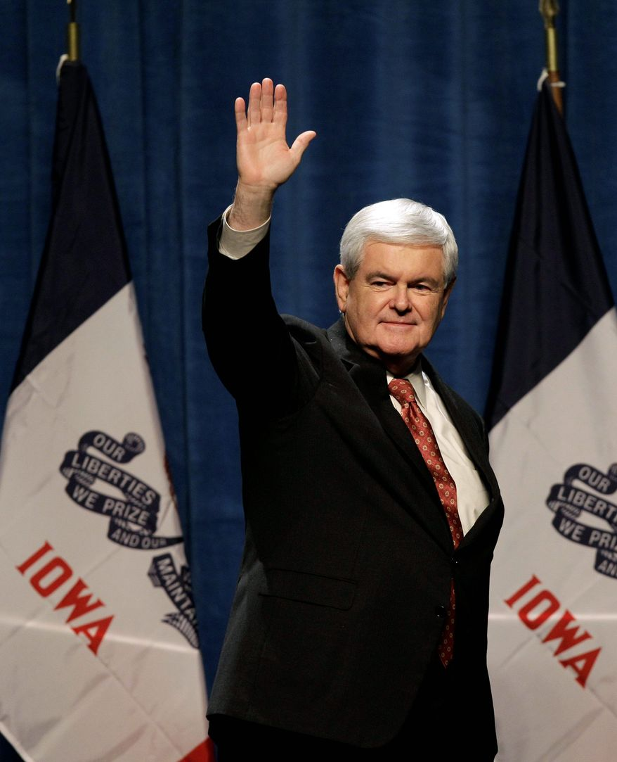 Former House Speaker Newt Gingrich could become the GOP presidential nomination race's new magnet for Republicans looking for an alternative to the current front-runners, some political analysts say. (Associated Press)