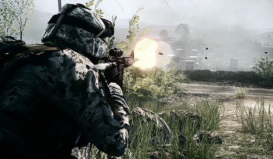 Become a modern day soldier in the video game Battlefield 3: Limited Edition.
