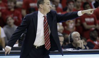 ** FILE ** Maryland head coach Mark Turgeon (AP Photo/Patrick Semansky)