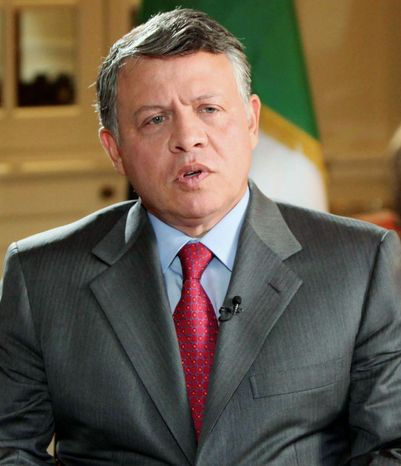 """If Bashar has the interest of his country, he would step down, but he would also create an ability to reach out and start a new phase of Syrian political life."" - Jordan's King Abdullah"