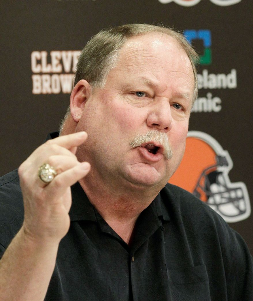Mike Holmgren (Associated Press)
