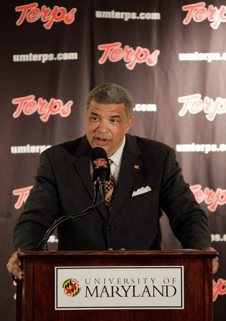 University of Maryland athletic director Kevin Anderson says no final decisions have been made regarding how many and which varsity teams could be abolished at the school by July because of funding problems. (Associated Press)