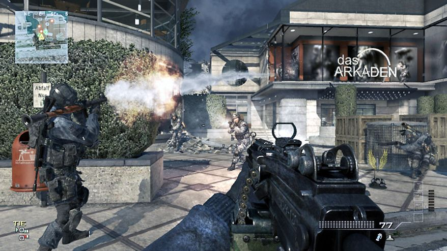 Get ready for gritty, in-your-face combat in the video game Call of Duty: Modern Warfare 3.