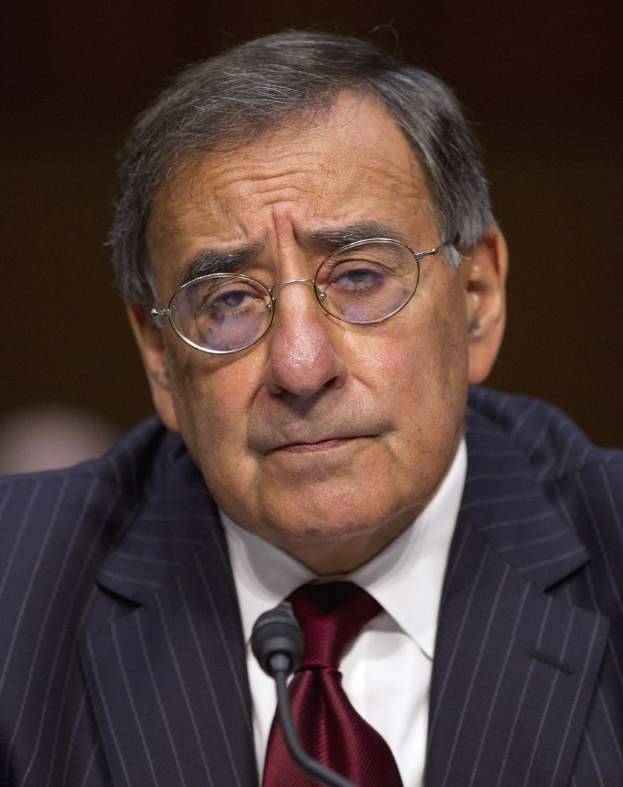 Defense Secretary Leon Panetta testifies on Capitol Hill on Nov. 15, 2011, before the Senate Armed Services Committee hearing on security issues relating to Iraq. (Associated Press)