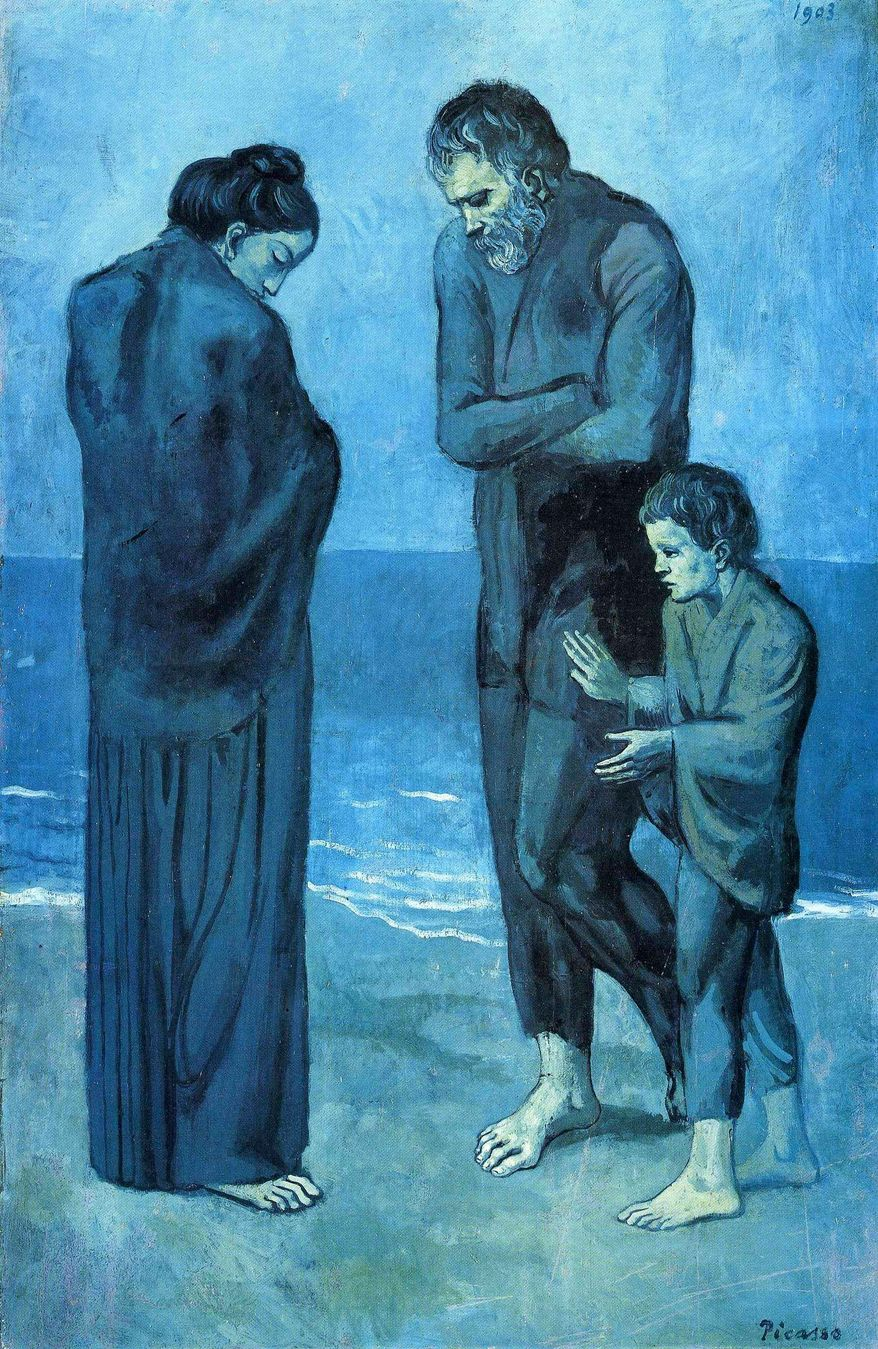 """""""The Tragedy"""" by Pablo Picasso"""