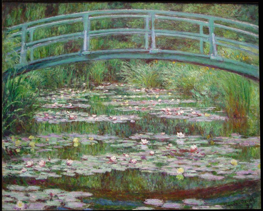 """The Japanese Footbridge"" by Claude Monet"