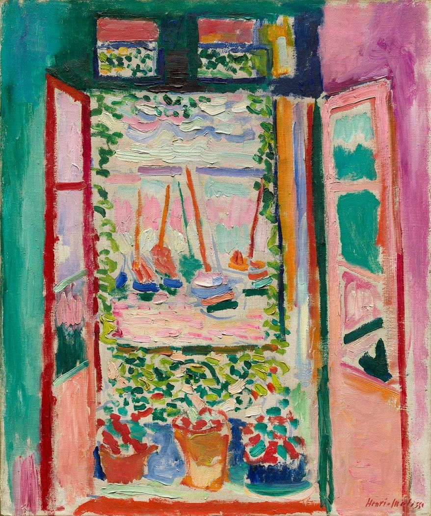 """The Open Window"" by Henri Matisse"