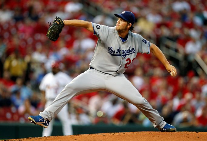 Cy Young Award winner Clayton Kershaw won the pitching triple crown. He lead the National League in wins (21), ERA (2.28) and sttrikeouts (248). (Associated Press)