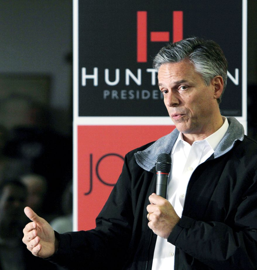 The campaign of former Utah Gov. Jon Huntsman Jr., a Republican presidential candidate, received some much-needed help with a massive ad purchase by a supportive super-PAC. (Associated Press)
