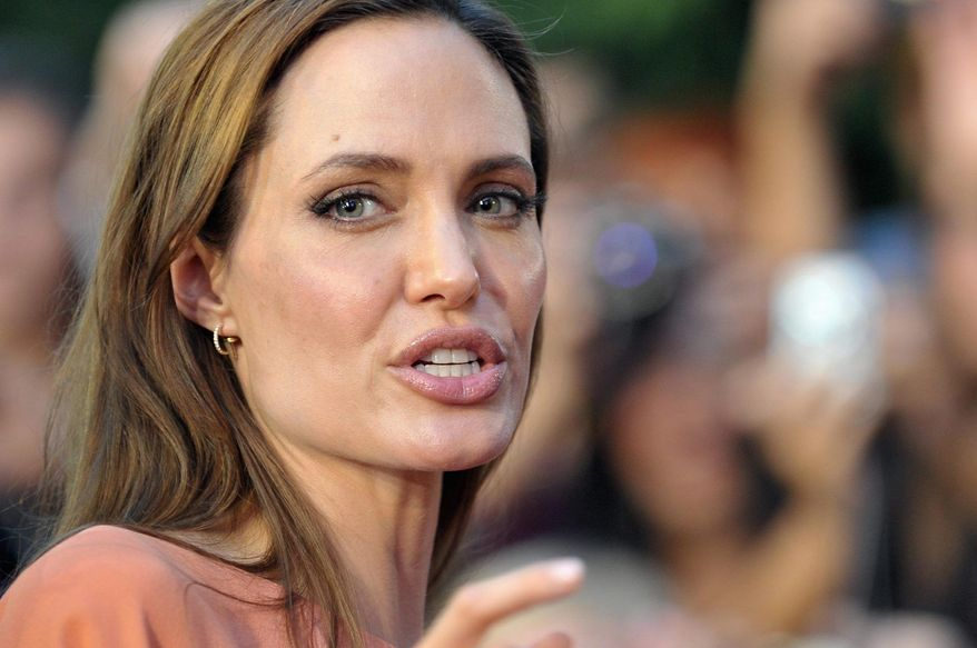 Angelina Jolie (Associated Press)