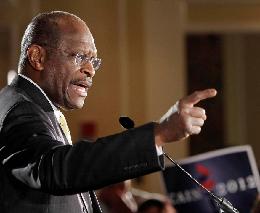 Former businessman Herman Cain has said he would change some of the U.N.'s rules. Mr. Cain, a GOP presidential hopeful, says he admires the hard-line foreign-policy views of a former U.S. envoy to the U.N.
