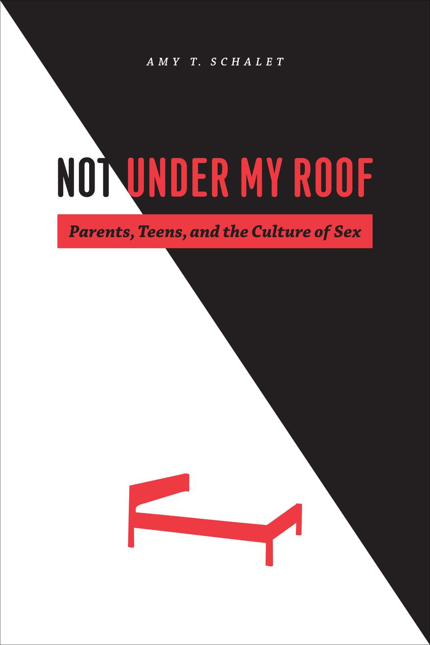"""""""I do not think Americans should emulate the Dutch. I don't think that's possible, even if it were desirable."""" -  Amy Schalet, author of the new book """"Not Under My Roof: Parents, Teens and the Culture of Sex."""" (image courtesy AmySchalet.com)"""