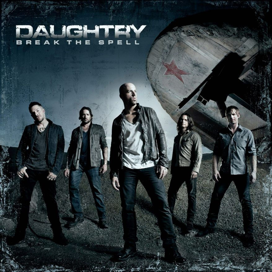 "Album cover for Daughtry ""Break the Spell""."