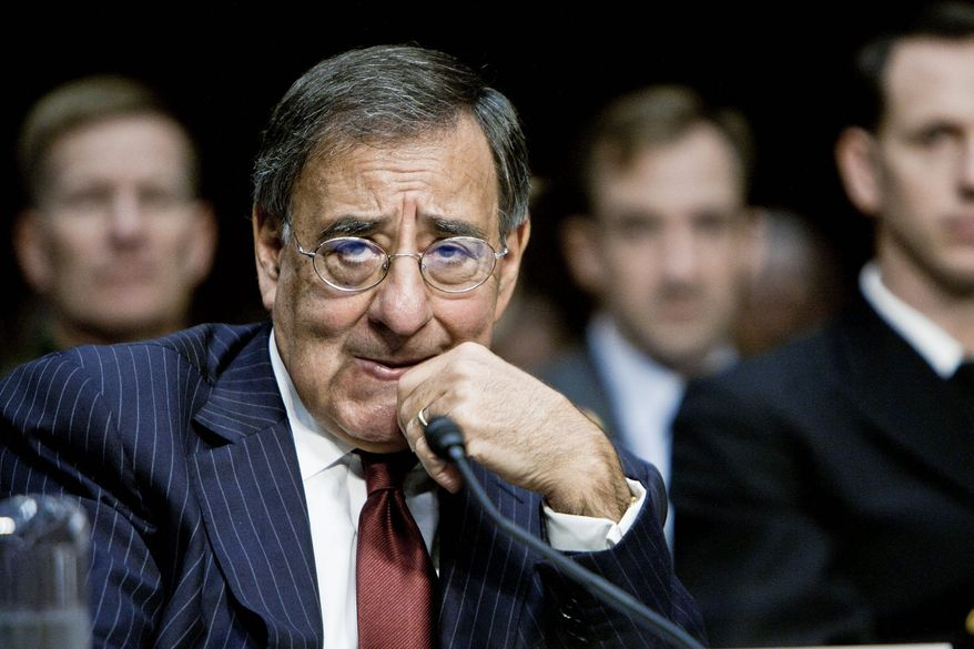 "Defense Secretary Leon E. Panetta has no plans to curtail his trips to Monterey, Calif. ""That's where his family lives, after all,"" a senior aide said. (T.J. Kirkpatrick/The Washington Times)"