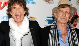 """FILE - In this May 11, 2010 file photo, musicians Mick Jagger, left, Keith Richards of The Rolling Stones attends a special screening of their new documentary """"Stones In Exile"""" at The Museum of Modern Art in New York. A new deluxe edition of the Rolling Stones' 1978 """"Some Girls,"""" will be released on Tuesday, Nov. 22. (AP Photo/Evan Agostini, File)"""