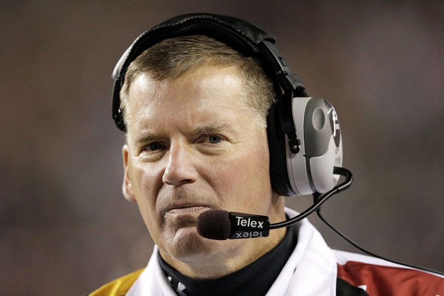 Maryland Terrapins coach Randy Edsall
