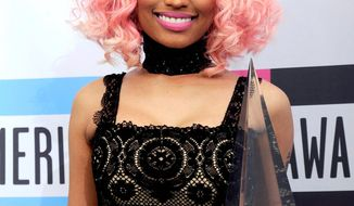 Nicki Minaj (Associated Press)