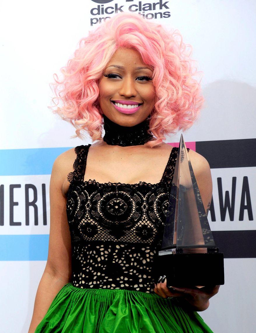 Nicki Minaj (Associated Press)